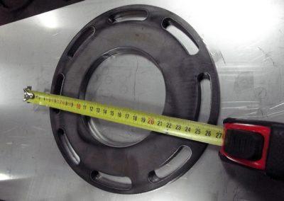 Kryza 10 mm grubości wypalana plazmowo